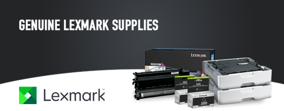 Lexmark Original Printer Supplies, Lexmark Genuine Toner Cartridges and Printer Parts