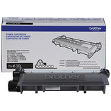 Brother (TN630) Black Toner Cartridge for Brother DCP-L2540DW DCP-L2520DW HL-L2300D HL-L2320D HL-L2340DW HL-L2360DWHL-L2380DW MFC-L2700DW MFC-L2720DW MFC-L2740DW - TN630 - Yield 1,200 Pages