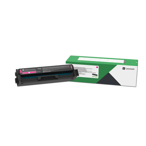 Lexmark 20N1HM0 Magenta High Yield Return Program Toner Cartridge (4,500 Yield)