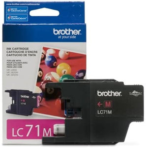 Brother LC71M Original Magenta Ink Cartridge 300 Yield