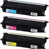 Genuine Brother TN431 C/M/Y Color Toner (3) Pack. Includes (1) each TN431C, TN431M, TN431Y