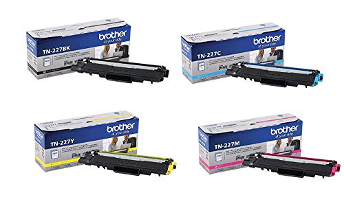 Brother MFC-L3710 (TN-227) BK/C/M/Y High Yield Toner (4) pack