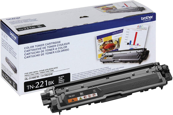 Brother TN221BK Original Black Toner Cartridge