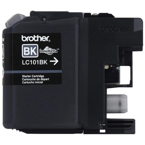 Brother LC101BK Original Black Ink Cartridge 300 Yield