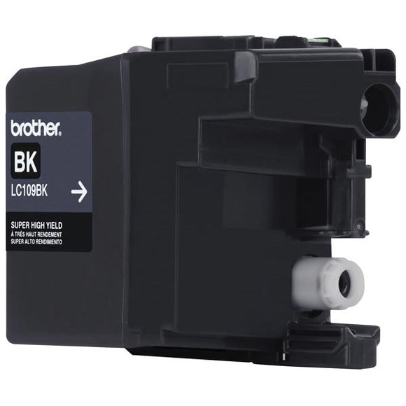 Brother LC109BK Original Black Ultra High Yield Ink Cartridge