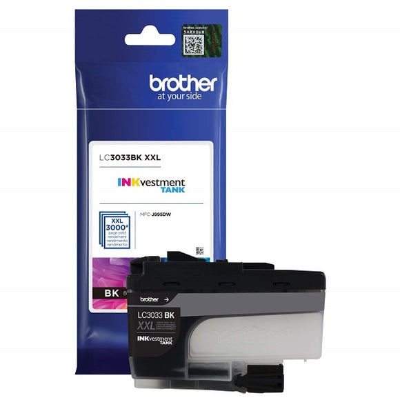 Brother LC3033BK Super High Yield Black Ink Cartridge
