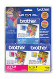 Brother LC513PKS Original C/M/Y Ink Combo Pack