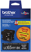 Brother LC652PKS Original Black Ink Twin Pack (2 x 900 Yield)