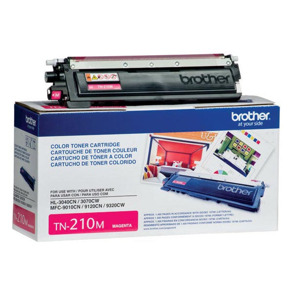 Brother TN210M Magenta Toner Cartridge (1,400 Yield)