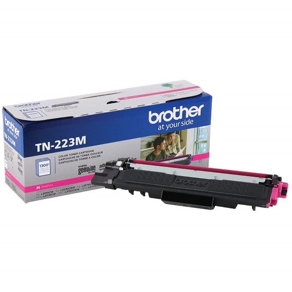Brother TN223M Standard Yield Magenta Toner Cartridge (1,300 Yield)