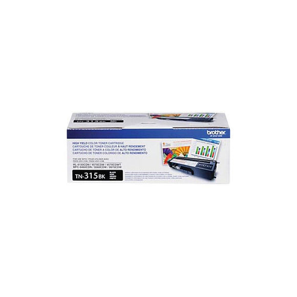 Brother TN315BK Original Black Toner Cartridge