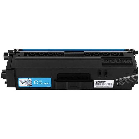 Brother TN331C Original Cyan Toner Cartridge 1,500 Yield