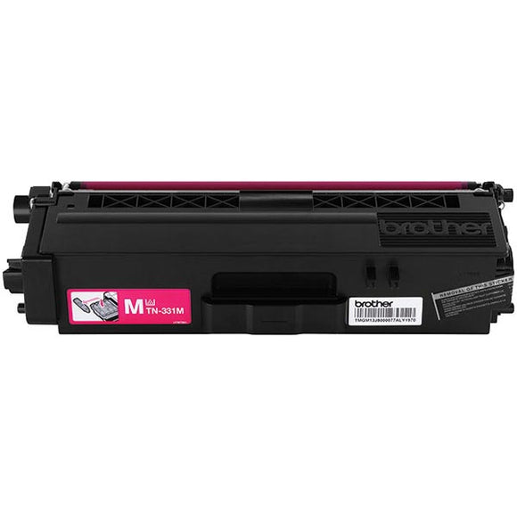 Brother TN331M Original Magenta Toner Cartridge 1,500 Yield