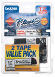 Brother TZE1312PK P-touch Label 2 Pack
