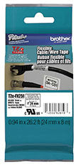 Brother TZEFX251 Flexible ID Super Adhesive Black on White 1