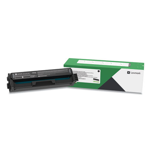 Lexmark C341XK0 Black Extra High Yield Return Program Toner Cartridge (4,500 Yield)