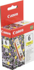 Canon 4708A003 BCI-6Y Original Yellow Ink Tank