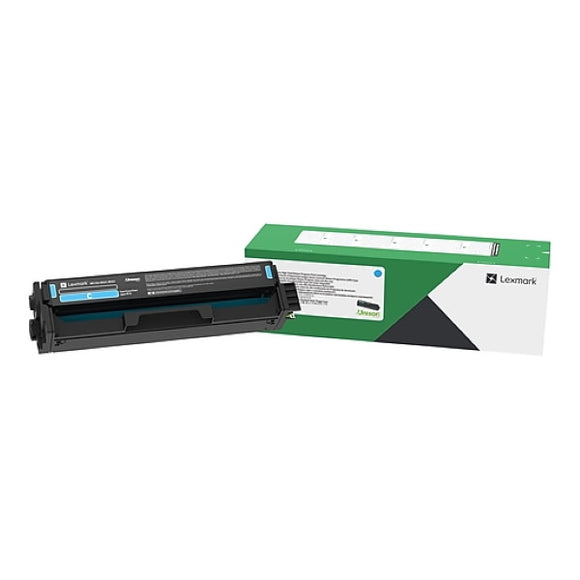 Lexmark 20N1HC0 Cyan High Yield Return Program Toner Cartridge (4,500 Yield)