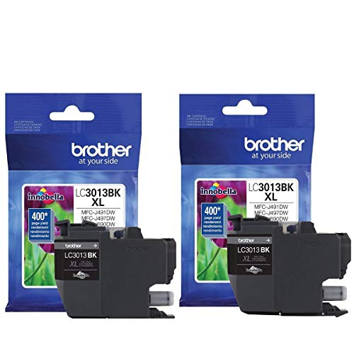 Brother LC3013BK (Black Ink-2 Pack)