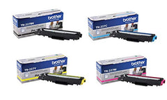 Brother TN227 High Yield Color Toner Set (BK/C/M/Y) (1) TN227BK, (1) TN227C, (1) TN227M, (1) TN227Y