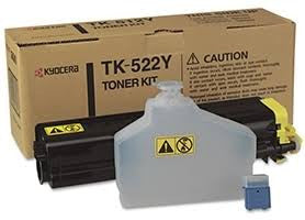 Kyocera TK-522Y Original Yellow Toner Cartridge