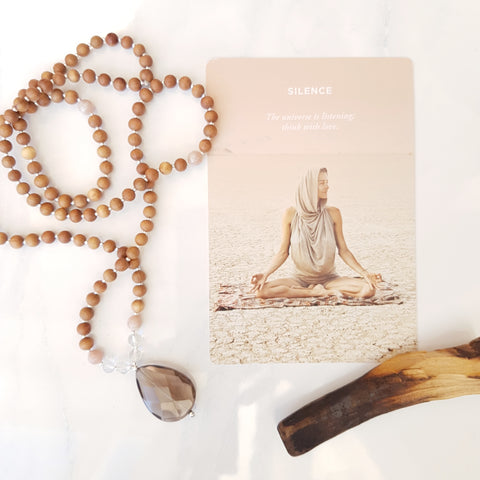 When I received my first set of mala beads, I'll be honest, I had no idea how to use them or how important they would become to me.   Over the years they have literally changed my life. They are a wonderful meditation aid, and even more, a wonderful reminder of what I'm trying to cultivate in my life.   Curious how mala beads work? Let's get started!