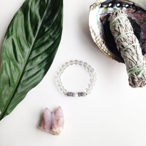 By activating your mala beads and crystal jewelry you attune them to your unique energy and add power to setting your intentions. Use our simple FREE guide as a starting point, and make it your own.