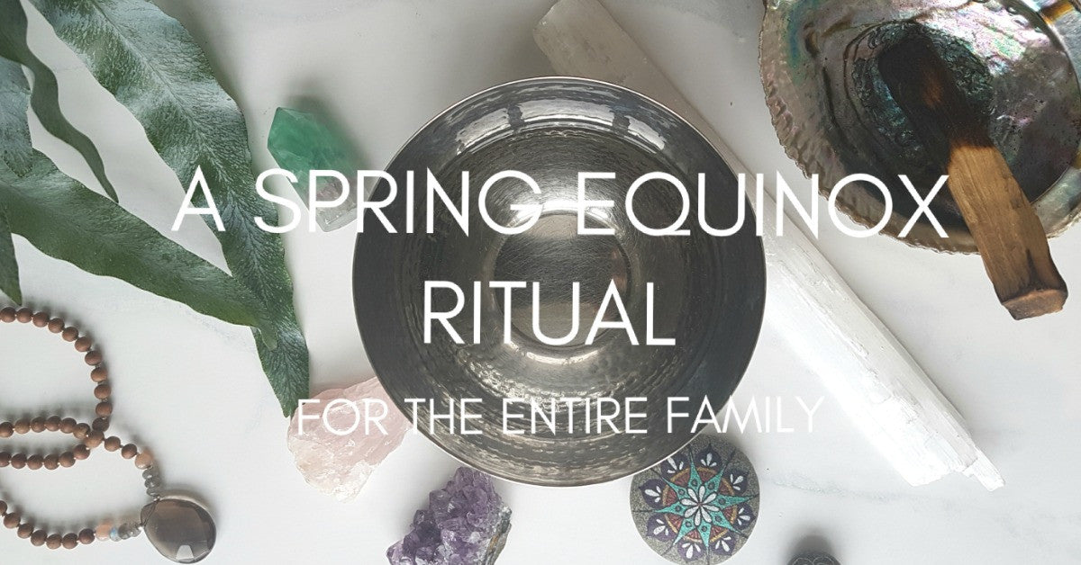 A fresh start for the entire family. Usher in spring with this fun Spring Equinox Ceremony to set your intentions for the season ahead and let go of what isn't serving you.