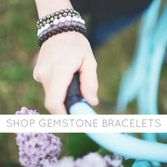 Shop Mama Malas Gemstone Intention Bracelets