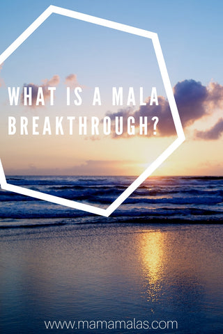 You've picked out your mala with care, you've worn it often and meditated with it frequently. And then maybe one day it broke. You are heartbroken. But a mala breaking can be an amazing thing. A mala that has been broken is called a 'Mala Breakthrough'. It is considered a sign of karmic progression and is something to be fully celebrated.