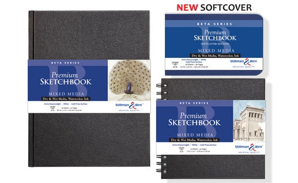 Stillman & Birn Beta Series Premium Sketchbooks