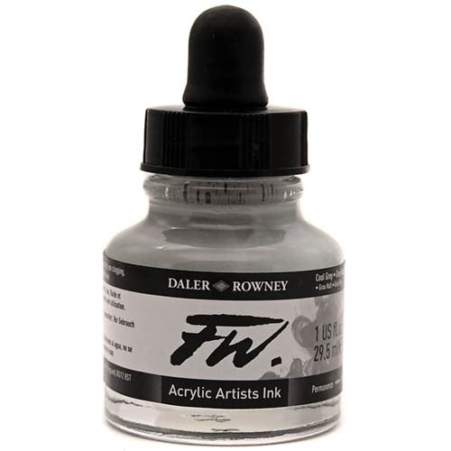 FW Ink Cool Grey 1oz