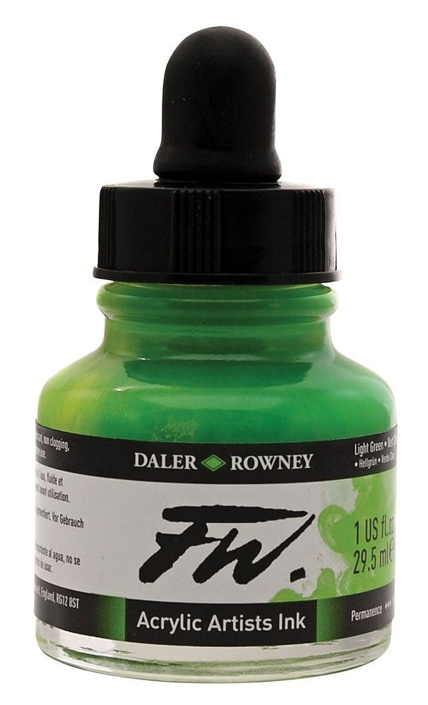 FW Ink Light Green 1oz