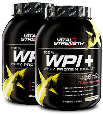 VITAL STRENGTH WPI 2KG VANILLA DNR - Natural Food Barn