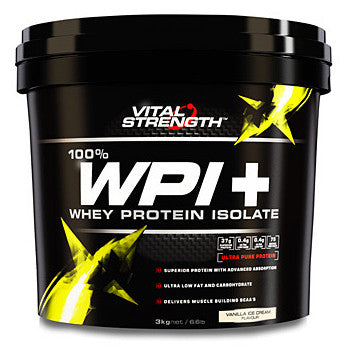VITAL STRENGTH WPI 3KG VANILLA - Natural Food Barn