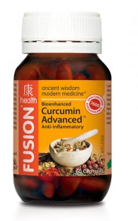 FUSION Curcumin Advanced 60C - Natural Food Barn