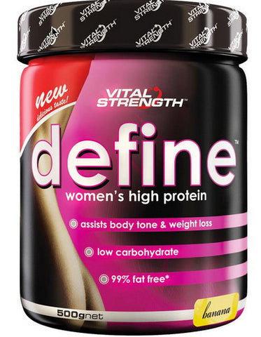 VITAL STRENGTH DEFINE 500G BANANA - Natural Food Barn