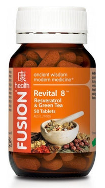 FUSION Revital 8 50T - Natural Food Barn