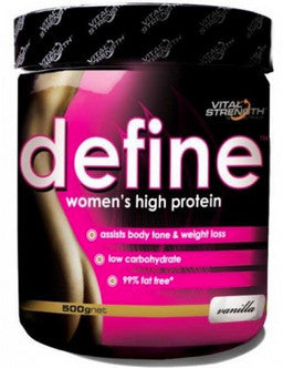 VITAL STRENGTH DEFINE 500G VANILLA