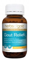 Herbs of Gold GOUT RELIEF 60C - Natural Food Barn