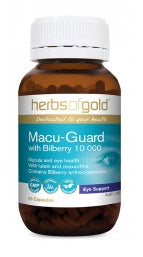 Herbs of Gold MACU-GUARD 60C - Natural Food Barn