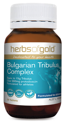 Herbs of Gold BULGARIAN TRIBULUS 30T - Natural Food Barn
