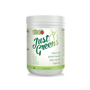 VITAL JUST GREENS 200G - Natural Food Barn