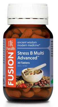 FUSION Stress B Multi 30T - Natural Food Barn
