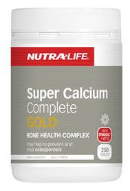 NUTRA SUPER CALCIUM GOLD 250T - Natural Food Barn