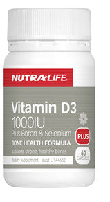 NUTRALIFE VITAMIN D3 120C - Natural Food Barn