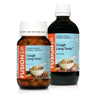 FUSION Cough Lung Tonic 100ML - Natural Food Barn