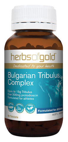 Herbs of Gold BULGARIAN TRIBULUS 60T - Natural Food Barn