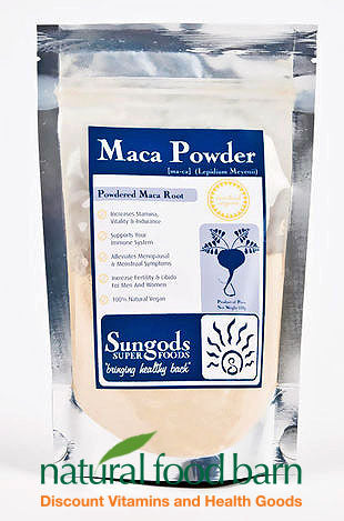 SG MACA POWDER 500GM - Natural Food Barn