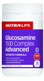 NUTRALIFE GLUCOS 1500 ADVANCED 90T - Natural Food Barn